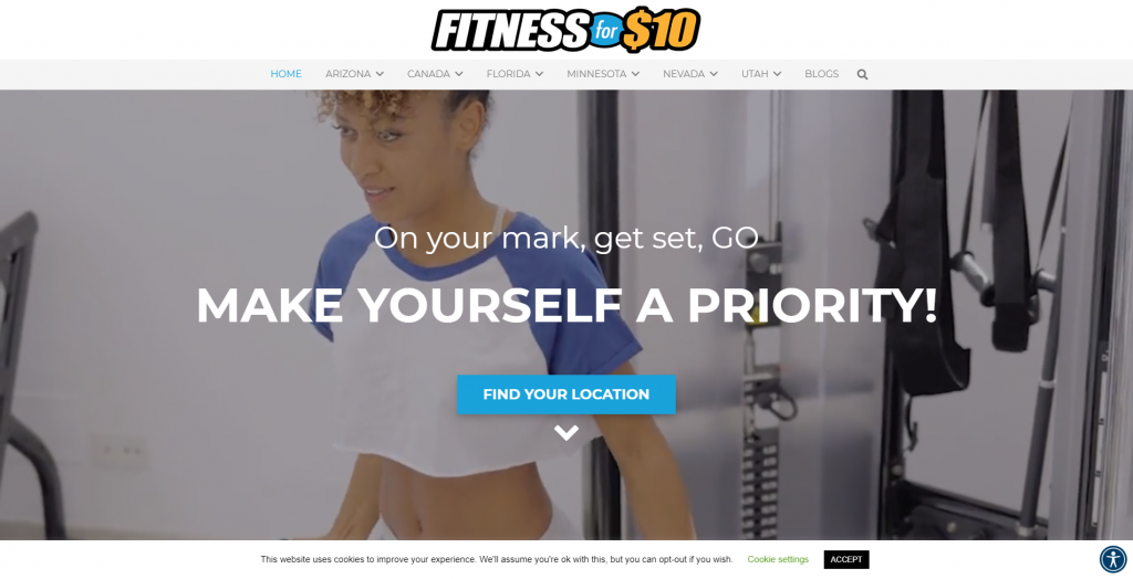 Fitness for $10